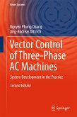 Vector Control of Three-Phase AC Machines (eBook, PDF)
