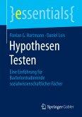 Hypothesen Testen (eBook, PDF)