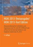 HOAI 2013-Textausgabe/HOAI 2013-Text Edition (eBook, PDF)