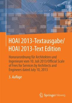HOAI 2013-Textausgabe/HOAI 2013-Text Edition (e...