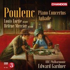 Klavierkonzert S 146/Konzert Für 2 Klaviere S 61/+ - Lorti/Mercier/Gardner/Bbc Philharmonic
