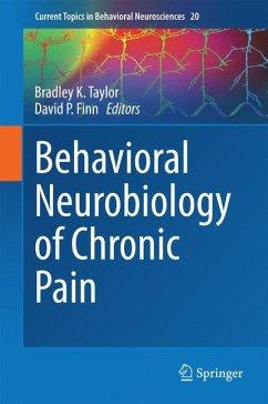 Behavioral Neurobiology of Chronic Pain (eBook, PDF)