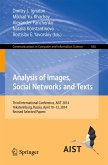 Analysis of Images, Social Networks and Texts (eBook, PDF)