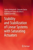 Stability and Stabilization of Linear Systems with Saturating Actuators (eBook, PDF)