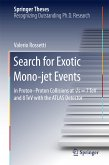 Search for Exotic Mono-jet Events (eBook, PDF)