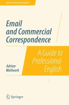 Email and Commercial Correspondence (eBook, PDF) - Wallwork, Adrian