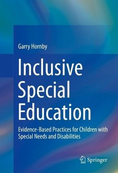 Inclusive Special Education (eBook, PDF) - Hornby, Garry