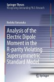 Analysis of the Electric Dipole Moment in the R-parity Violating Supersymmetric Standard Model (eBook, PDF)