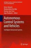 Autonomous Control Systems and Vehicles (eBook, PDF)