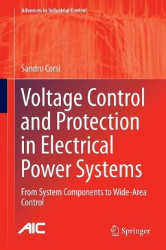 Voltage Control and Protection in Electrical Power Systems (eBook, PDF) - Corsi, Sandro
