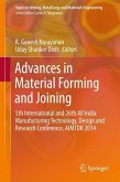 Advances in Material Forming and Joining (eBook, PDF)