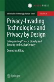 Privacy-Invading Technologies and Privacy by Design (eBook, PDF)