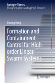 Formation and Containment Control for High-order Linear Swarm Systems (eBook, PDF)