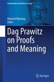 Dag Prawitz on Proofs and Meaning (eBook, PDF)