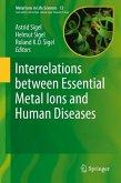 Interrelations between Essential Metal Ions and Human Diseases (eBook, PDF)