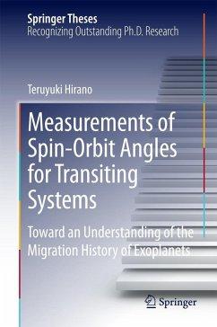 Measurements of Spin-Orbit Angles for Transiting Systems (eBook, PDF) - Hirano, Teruyuki