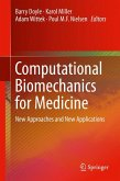 Computational Biomechanics for Medicine (eBook, PDF)
