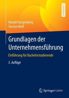 Grundlagen der Unternehmensführung (eBook, PDF) - Wulf, Torsten; Hungenberg, Harald