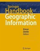 Springer Handbook of Geographic Information (eBook, PDF)