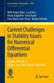 Current Challenges in Stability Issues for Numerical Differential Equations (eBook, PDF)