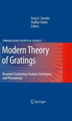 Modern Theory of Gratings (eBook, PDF)