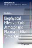 Biophysical Effects of Cold Atmospheric Plasma on Glial Tumor Cells (eBook, PDF)