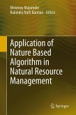 Application of Nature Based Algorithm in Natural Resource Management (eBook, PDF)