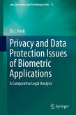 Privacy and Data Protection Issues of Biometric Applications (eBook, PDF)