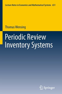 Periodic Review Inventory Systems (eBook, PDF) - Wensing, Thomas