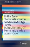 Linking Game-Theoretical Approaches with Constructive Type Theory (eBook, PDF)