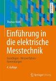 Einführung in die elektrische Messtechnik (eBook, PDF)