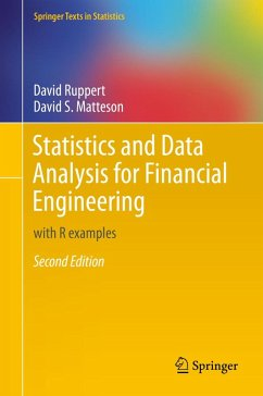 Statistics and Data Analysis for Financial Engineering (eBook, PDF) - Ruppert, David; Matteson, David S.