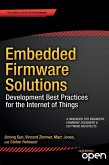 Embedded Firmware Solutions (eBook, PDF)