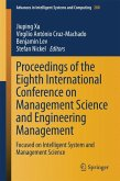 Proceedings of the Eighth International Conference on Management Science and Engineering Management (eBook, PDF)