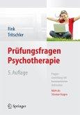Prüfungsfragen Psychotherapie (eBook, PDF)