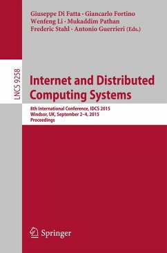 Internet and Distributed Computing Systems (eBook, PDF)