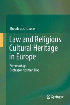 Law and Religious Cultural Heritage in Europe (eBook, PDF) - Tsivolas, Theodosios
