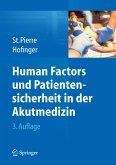 Human Factors und Patientensicherheit in der Akutmedizin (eBook, PDF)