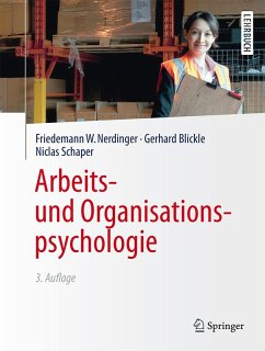 Arbeits- und Organisationspsychologie (eBook, PDF) - Schaper, Niclas; Blickle, Gerhard; Nerdinger, Friedemann W.