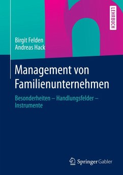 Management von Familienunternehmen (eBook, PDF) - Felden, Birgit; Hack, Andreas