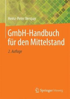GmbH-Handbuch für den Mittelstand (eBook, PDF) - Verspay, Heinz-Peter