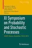 XI Symposium on Probability and Stochastic Processes (eBook, PDF)