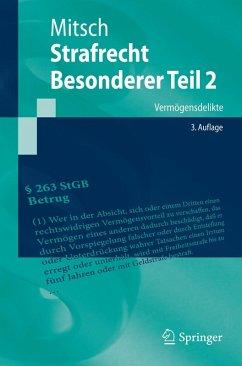 Strafrecht, Besonderer Teil 2 (eBook, PDF) - Mitsch, Wolfgang