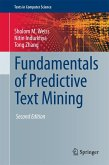 Fundamentals of Predictive Text Mining (eBook, PDF)