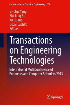 Transactions on Engineering Technologies (eBook, PDF)