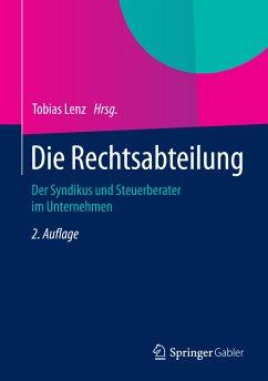 Die Rechtsabteilung (eBook, PDF)