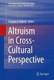 Altruism in Cross-Cultural Perspective (eBook, PDF)