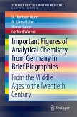 Important Figures of Analytical Chemistry from Germany in Brief Biographies (eBook, PDF)