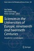 Sciences in the Universities of Europe, Nineteenth and Twentieth Centuries (eBook, PDF)