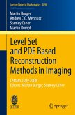 Level Set and PDE Based Reconstruction Methods in Imaging (eBook, PDF)